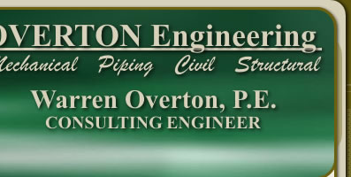 Overton Engineering - Warren E. Overton, P.E.